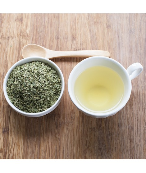 Green Tea Flavor Emulsion for High Heat Applications