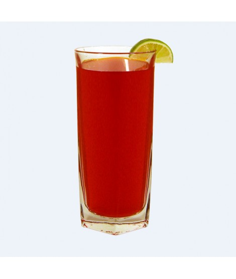 Grenadine Flavor Emulsion for High Heat Applications