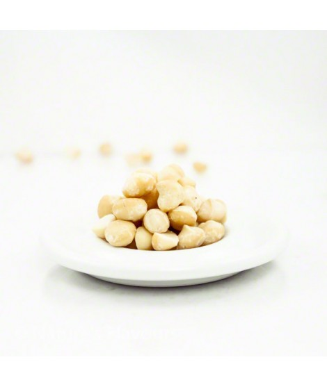 Macadamia Nut Flavor Emulsion for High Heat Applications