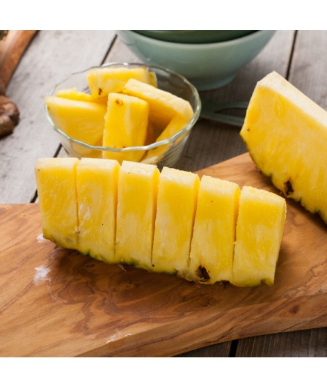 Pineapple Organic Flavor Emulsion for High Heat Applications