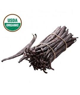 Organic Clear Vanilla Flavor Oil (Oil Soluble)