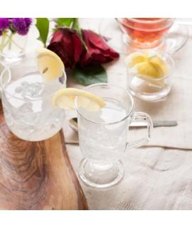 Organic Lemon Lime Spring Water Flavor (Vegan, Gluten free, Kosher, Zero Carbs, Zero Calories)