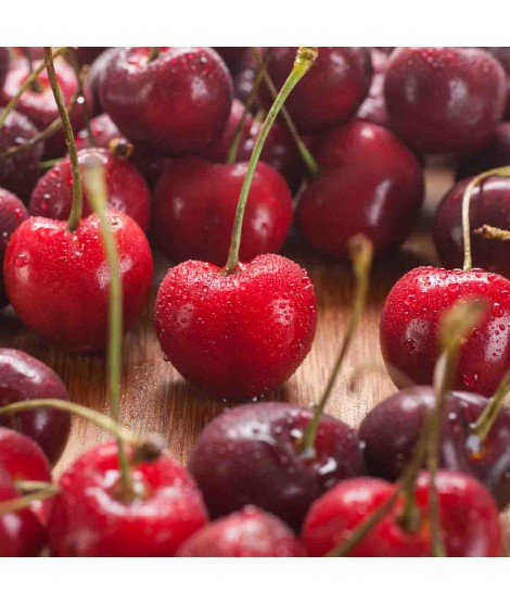 Black Cherry Organic Flavor Emulsion for High Heat Applications