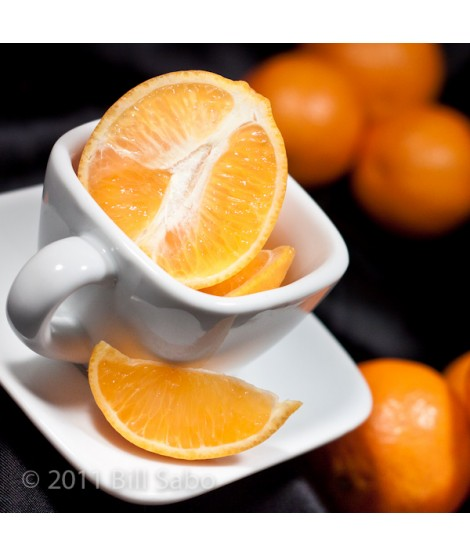 Tangerine Organic Flavor Emulsion for High Heat Applications