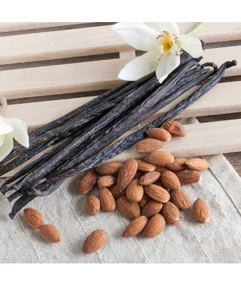 Organic Almond Vanilla Flavor Concentrate