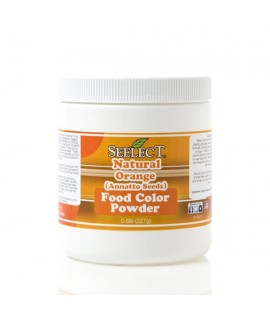 Orange Food Color Powder (Made From Annatto Seeds)