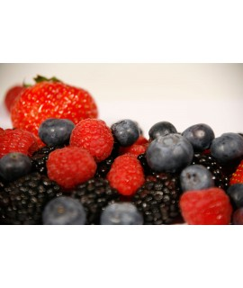 Berry Organic Flavor Emulsion for High Heat Applications