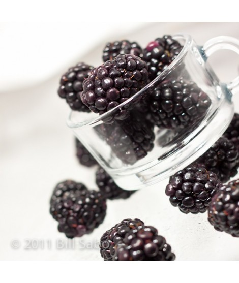 Black Raspberry Organic Flavor Emulsion for High Heat Applications