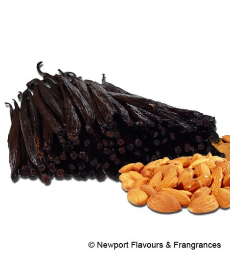 Organic Almond Vanilla Flavor Extract