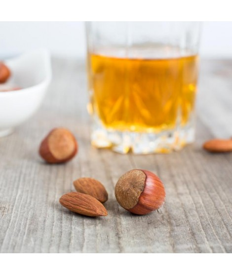 Organic Amaretto Hazelnut Flavor Oil For Chocolate (Kosher, Vegan, Gluten Free, Oil Soluble)