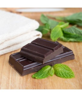 Organic Chocolate Mint Flavor Oil For Chocolate (Kosher, Vegan, Gluten-Free, Oil Soluble)