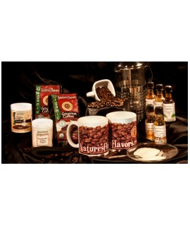 Natures Organic Coffee Gift Box