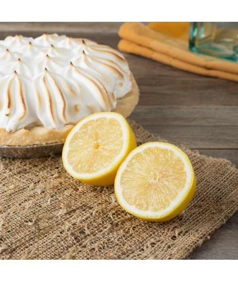 Organic Lemon Meringue Flavor Oil For Chocolate (Kosher, Vegan, Gluten-Free, Oil Soluble)