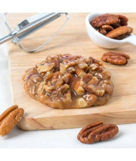Organic Pecan Praline Flavor Oil For Chocolate (Kosher, Vegan, Gluten-Free, Oil Soluble)