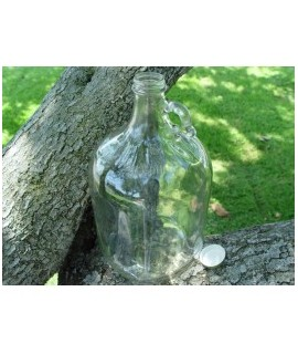 Gallon Glass Jug with Gold Plastisol Cap
