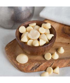 Organic White Chocolate Macadamia Nut Flavor Oil For Chocolate (Kosher, Vegan, Gluten-Free, Oil Soluble)