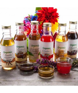 Sample Pack of Organic Syrups
