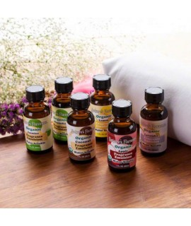 Sample Pack of Organic Fragrance Emulsions (Water Soluble)