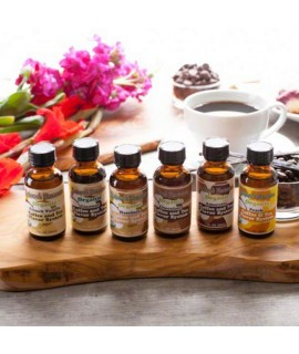 Sample Pack of Organic Coffee and Tea Flavoring