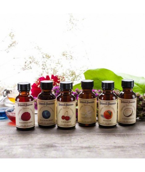 Sample Pack of Organic Flavor Extracts