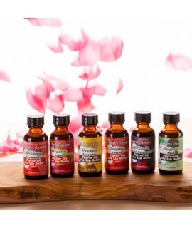 Sample Pack of Organic Lip Balm Flavor Oils