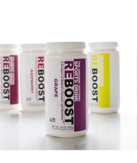 REBOOST Organic Grape Isotonic Energy Drink Powder