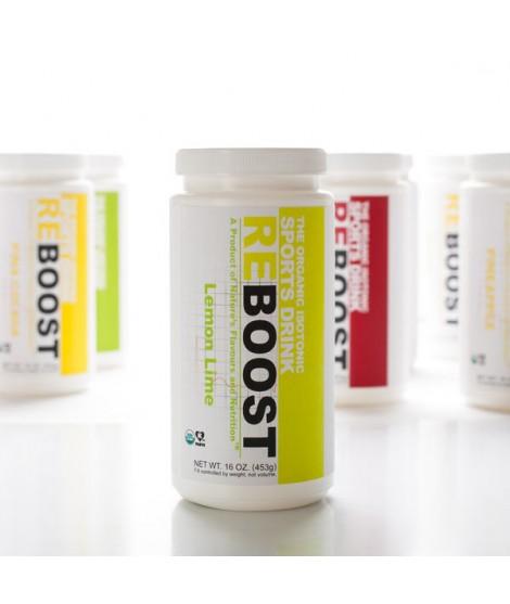 REBOOST Organic Lemon Lime Isotonic Energy Drink Powder