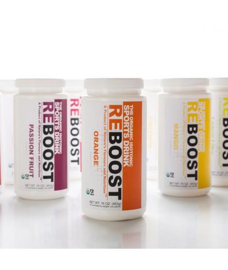 REBOOST Organic Orange Isotonic Energy Drink Powder