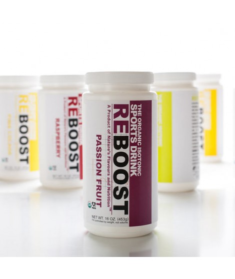 REBOOST Organic Passion Fruit Isotonic Energy Drink Powder