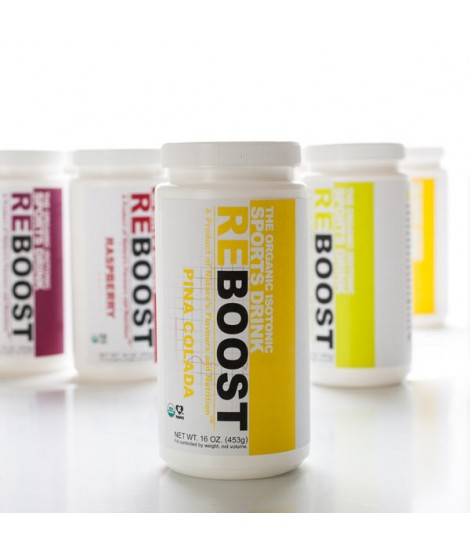 REBOOST Organic Pina Colada Isotonic Energy Drink Powder
