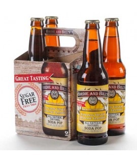 Bananas Foster Soda Birdie and Bill's (4 Pack)
