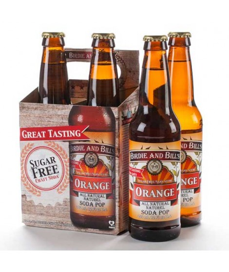 Orange Soda Birdie and Bills (4 Pack)