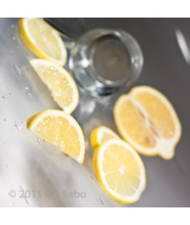 Organic Lemon Spring Water Flavor (Kosher, Vegan, Gluten Free, Zero Carbs, Zero Calories)