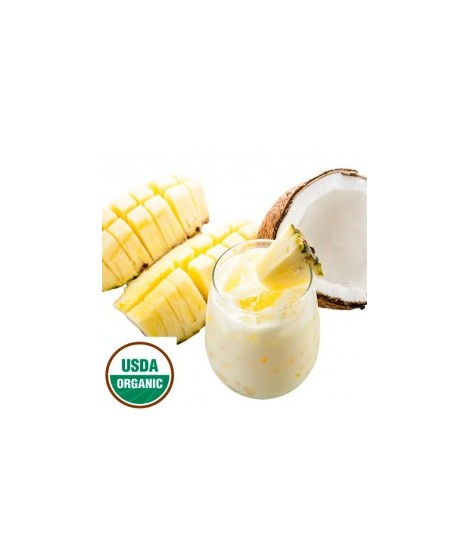 Organic Pina Colada Flavor Powder