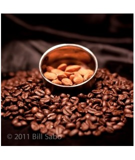 Organic Almond Flavored Coffee Beans (Shade Grown, Micro Roasted)