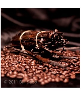 Organic Decaf French Vanilla Flavored Coffee Beans (Shade Grown)