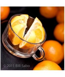 Organic Decaf Mandarin Orange Flavored Coffee Beans (Shade Grown)