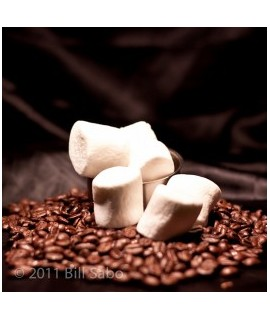 Organic Decaf Marshmallow Flavored Coffee Beans (Shade Grown)