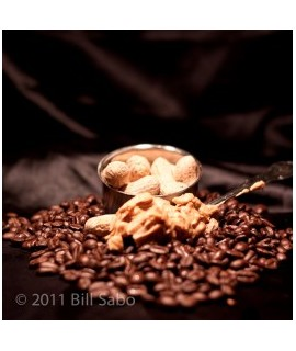 Organic Decaf Peanut Butter Flavored Coffee Beans (Shade Grown)