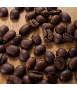 Organic Apricot Flavored Coffee Beans (Shade Grown, Micro Roasted)