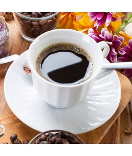 Organic Decaf Macadamia Nut Flavored Coffee Beans (Shade Grown)