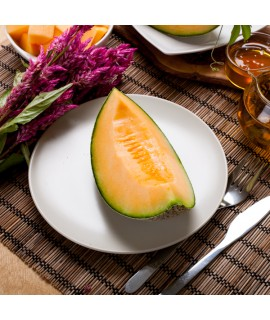 Cantaloupe Organic Flavor Emulsion for High Heat Applications