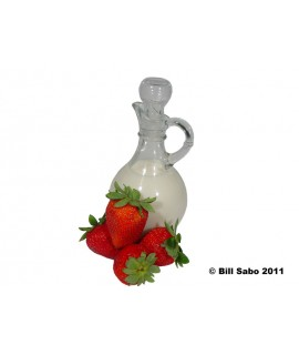 Organic Strawberry Cream Flavor Extract