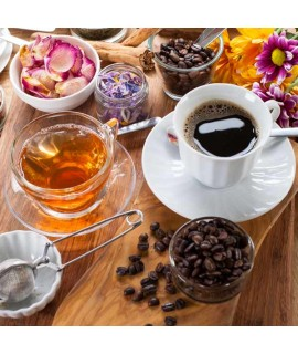 Zabaglione Coffee and Tea Flavor without Diacetyl