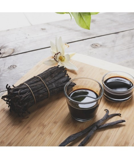 Organic Vanilla Cream Flavor Extract