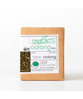 Green Tea Oolong Fannings (Estate Grown, 24 Premium Tea Bags)