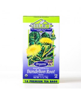 Organic Dandelion Root Roasted Tea (16 Tea Bags)