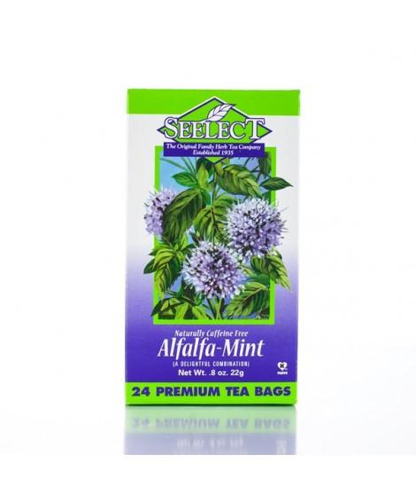 Alfalfa Mint Tea 24 Premium Tea Bags