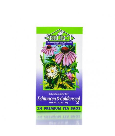 Echinacea and Goldenseal Tea 24 Premium Tea Bags