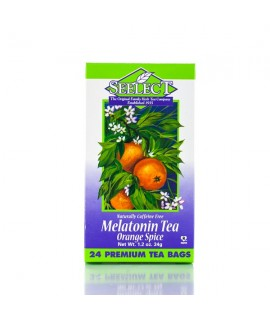 Melatonin Tea (Orange Spice) 24 Premium Tea Bags